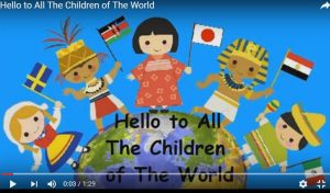 Hello to all the children of the world