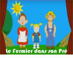 le fermier dans son pre