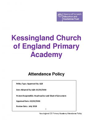 thumbnail of Attendance Policy for the Website