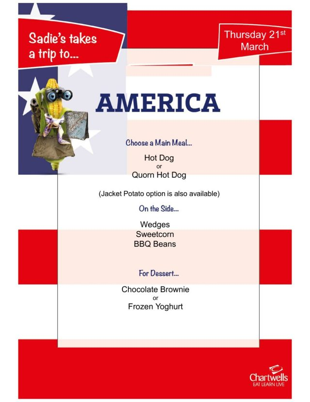 thumbnail of American Theme Day Menu 21st March