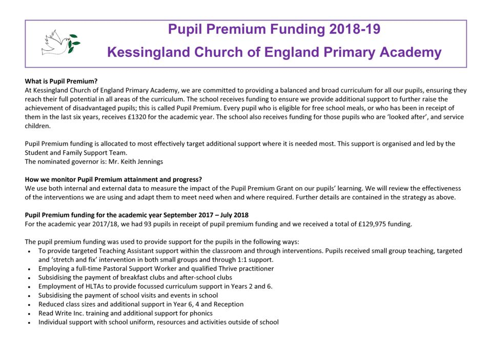 thumbnail of Pupil Premium Strategy Report_2018-19