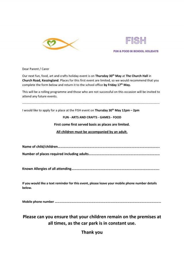 thumbnail of FISH Parent Letter May PDF